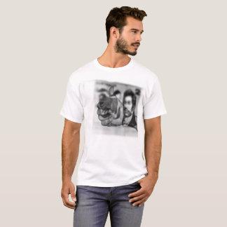 Camiseta Polegares grandes acima para o dinheiro, t-shirt