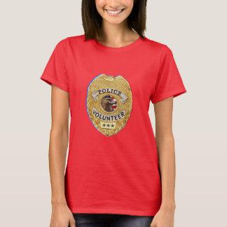 Camiseta Police_Badge_Volunteer
