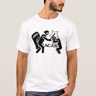 Camiseta Polícia A.C.A.B das bobinas