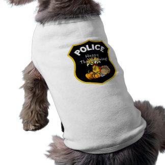 Camiseta Polícia da acção de graças