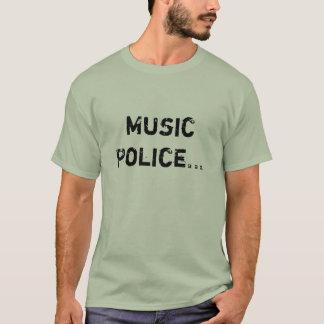 Camiseta Polícia da música