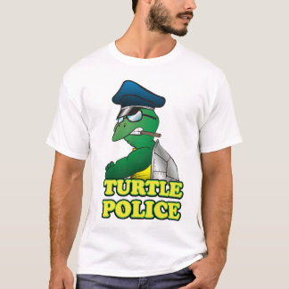 Camiseta Polícia da tartaruga