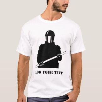 Camiseta Polícia de motim