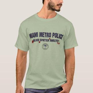 CAMISETA POLÍCIA DO METRO DE MIAMI