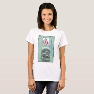 "Camiseta ""Política da Identidade"" Betine Bombom ♀"