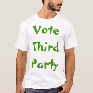 Camiseta Política do terceiro