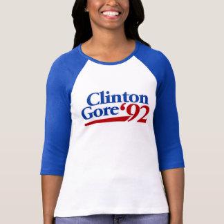 Camiseta Política retro de Clinton Gore 1992