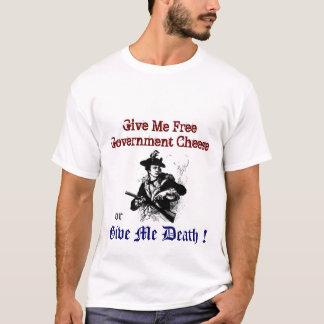 Camiseta Político engraçado do pacote de estímulo do queijo