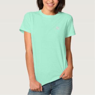 Camiseta Polo Bordada Pólo das senhoras do trevo