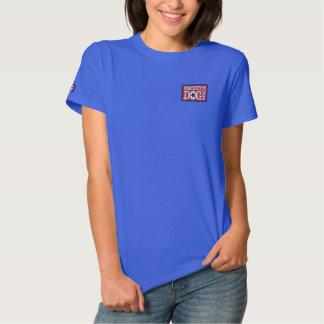 Camiseta Polo Bordada RDR - Os EUA bordaram a camisa