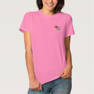 Camiseta Polo Bordada Você está sendo servido?