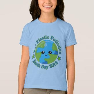 Camiseta Poluição do plástico da extremidade do Dia da