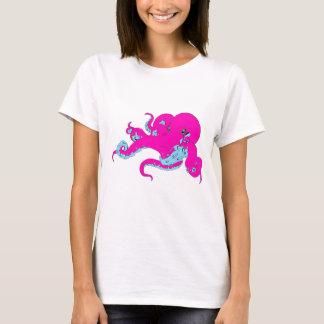 Camiseta Polvo cor-de-rosa