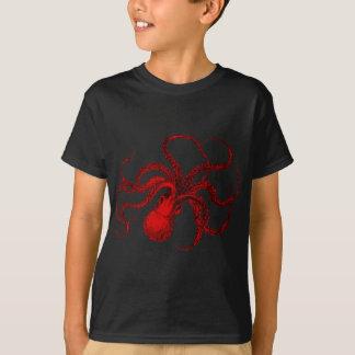Camiseta Polvo do vermelho do vintage