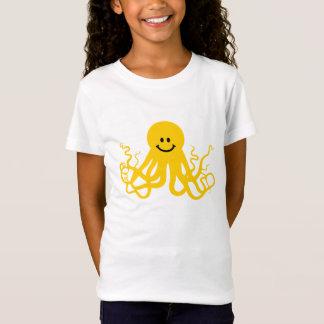 Camiseta Polvo/smiley amarelo de Kraken