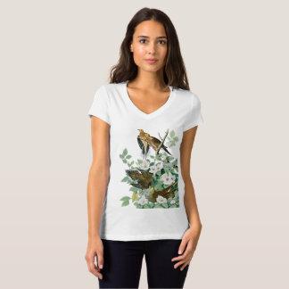 Camiseta Pomba da tartaruga de Carolina, pássaros de
