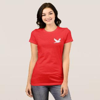 Camiseta Pomba de voo