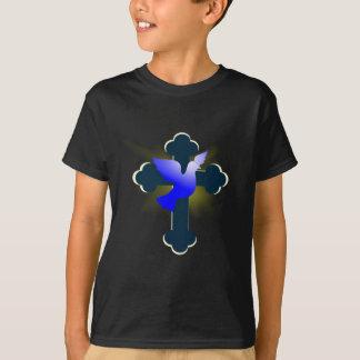 Camiseta Pomba e cruz