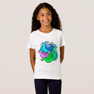Camiseta Pombas de paz & ramos de oliveira, o t-shirt da