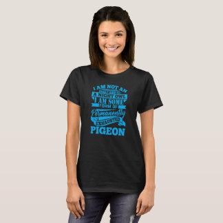 Camiseta Pombo esgotado - comentário sarcástico engraçado