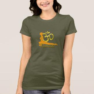 Camiseta pombo-pose, namaste