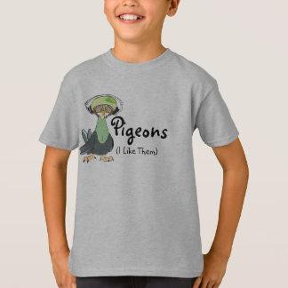 Camiseta Pombos (eu gosto d)