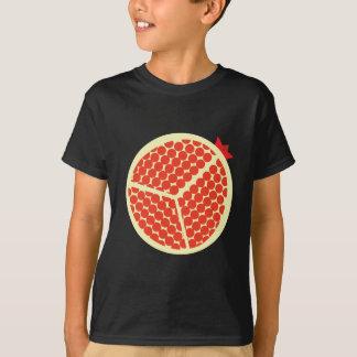 Camiseta pomegrante no interior