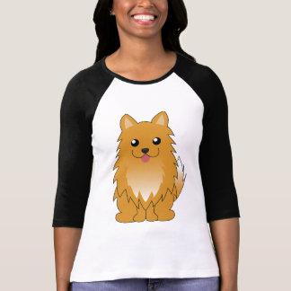 Camiseta Pomeranian alaranjado