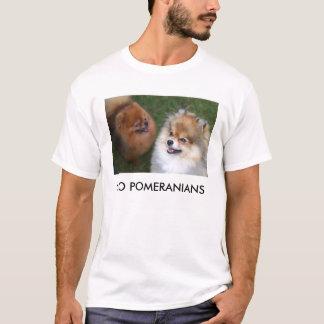 Camiseta pomeranian, VÃO POMERANIANS