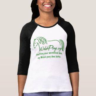 Camiseta Pônei de galês & sociedade da espiga de América