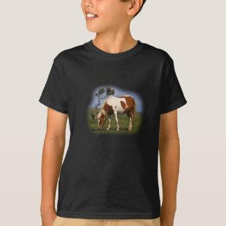 Camiseta Pônei e t-shirt solitário dos miúdos do Gorse