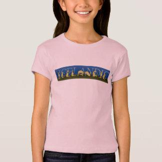 Camiseta Pônei islandês escrito nos pôneis