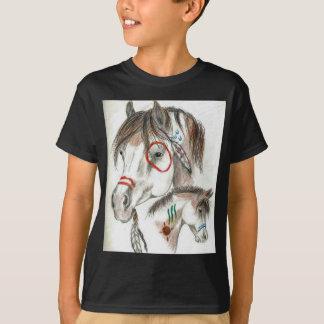 Camiseta Pôneis do guerreiro do espírito