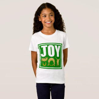 Camiseta Pôneis do Natal da alegria