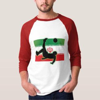Camiseta Pontapé de bicicleta de Irã
