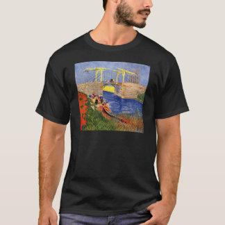 Camiseta Ponte de Van Gogh Langlois, Arles, belas artes do