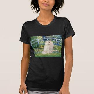 Camiseta Ponte - gato persa branco