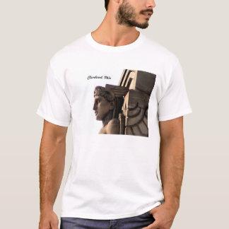 Camiseta Ponte t-shirt de Cleveland do art deco, OH