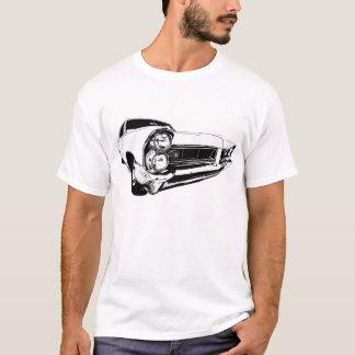 Camiseta Pontiac 1965 Prix grande no branco