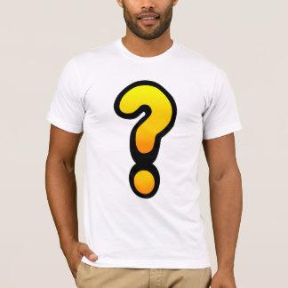 Camiseta Ponto de interrogação e marca de exclamação