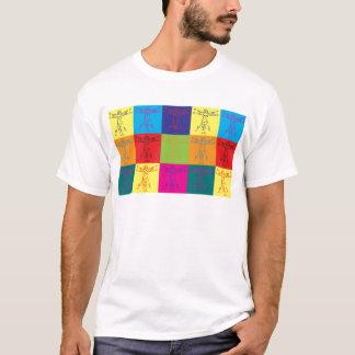 Camiseta Pop art da antropologia