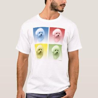 Camiseta Pop art de Bichon Frise