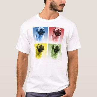 Camiseta Pop art de Bullmastiff