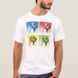 Camiseta Pop art de Dogue de Bordéus