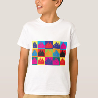 Camiseta Pop art do planeamento urbano
