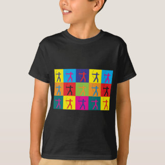 Camiseta Pop art do tiro ao arco