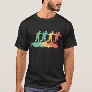 Camiseta Pop art retro de Cornhole