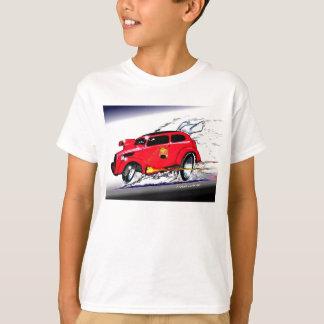 Camiseta Pop de competência do monstro de Emma e de mel de
