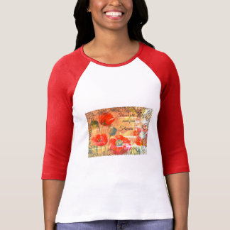 "Camiseta ""Popies vermelhos """