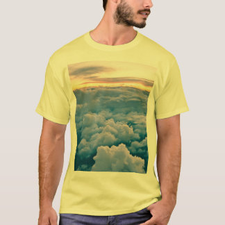 Camiseta Por do sol aéreo